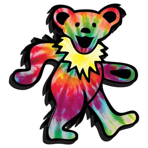 grateful dead bear funky chunky magnet aquarius