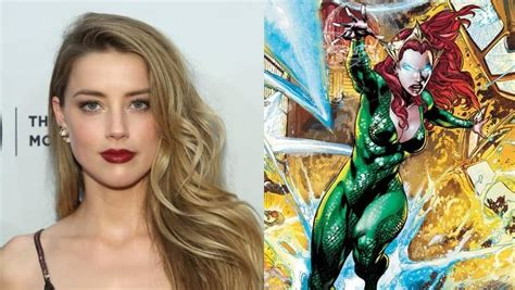 actress in aquaman 2018 page 1 amber heard in negotiations to play mera in