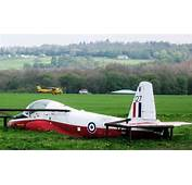 Fuselage Of A BAC 84 Jet Provost Aircraft At RAF