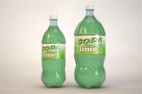 Pop Bottles Mp | 3d model plastic bottles soda pop
