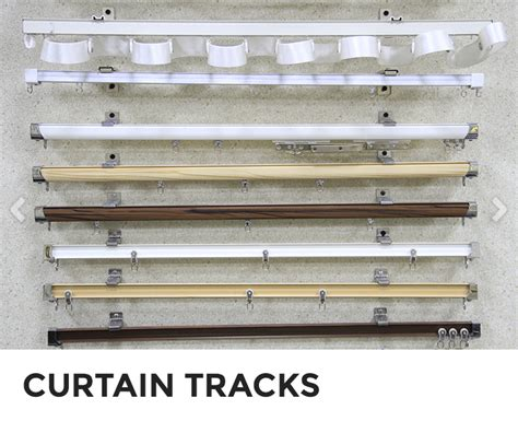 types of curtain rods and tracks shalimar curtains curtain tracks