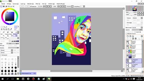 tutorial paint tool sai indonesia pdf tutorial tuy project tutorial membuat pop wpap