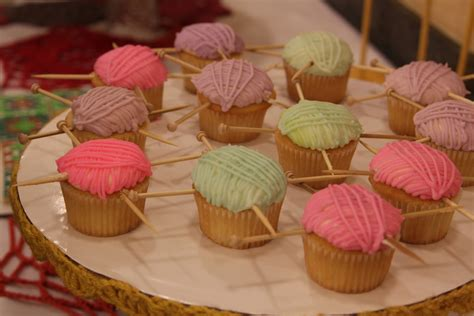 Knitted Cupcakes Seriously by Snap Brand Yarn Sugar Bee Crafts