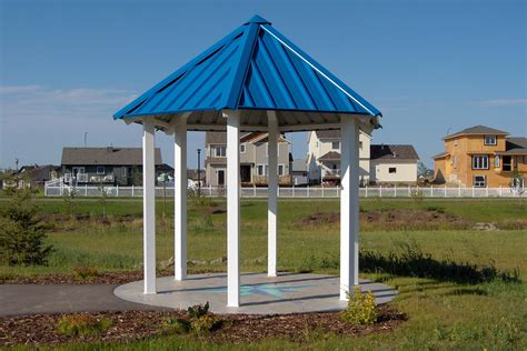 gazebo steel steel gazebos maranda series custom park leisure