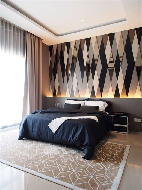 bedroom feature wall designs best 25 wallpaper decor ideas on modern