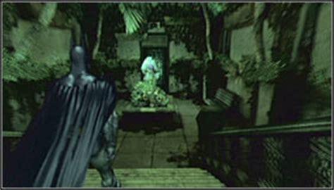 Batman Arkham Asylum Botanical Gardens Collectibles Botanical Gardens Part 4 Batman Arkham