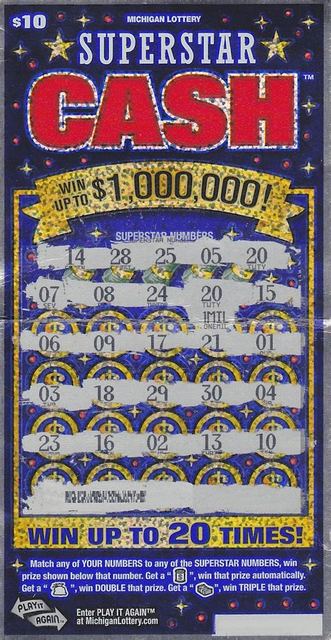 How To Win On Instant Lottery Tickets - flint man wins 1 million with instant lottery ticket mlive com