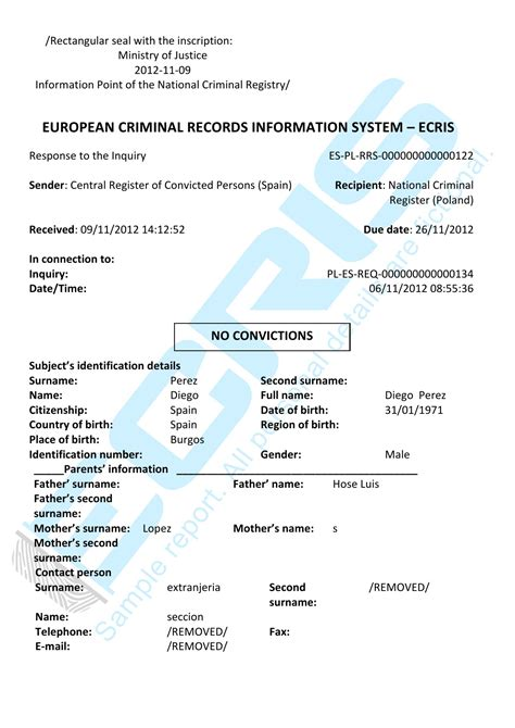 Brand Criminal Record Criminal Record Check From Central Register Of Convicted Offenders And Fugitives