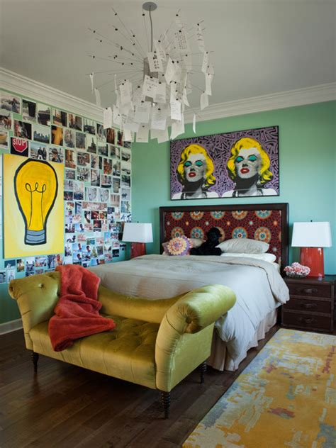 eclectic bedroom ideas los gatos residence eclectic bedroom san francisco