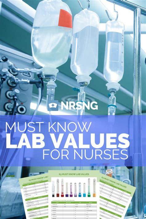 creatinine lab values 1000 ideas about lab values on nclex bun