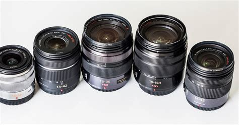 ergonomics panasonic standard zoom lens comparison