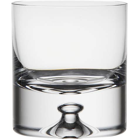 crate and barrel barware direction 9 oz double old fashioned glass crate and barrel