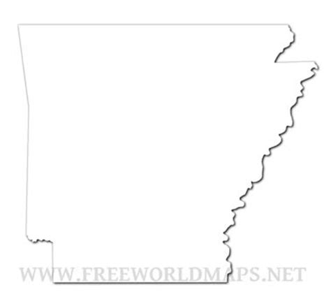 united states map showing arkansas arkansas maps