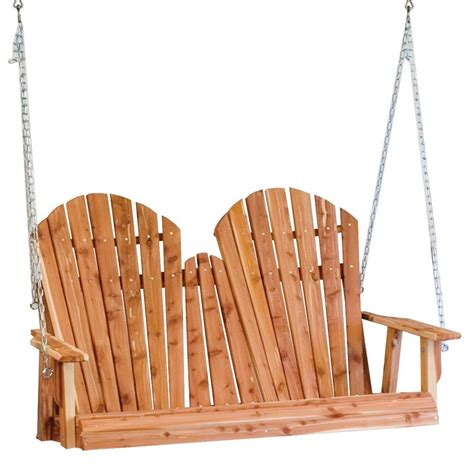 amish adirondack chair porch swing