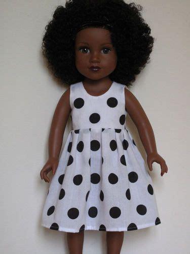 black journey doll polka dot dress for journey doll 9 99 journey