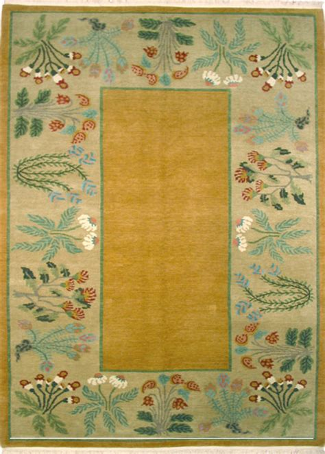 botanical area rugs healing botanical ochre field rug 10x14 traditional area rugs by a rug for all reasons