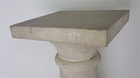 big lots faux marble large faux stone pedestal