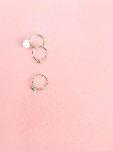 Faux Pearl Ring diy jewelry faux pearl ringmaritza