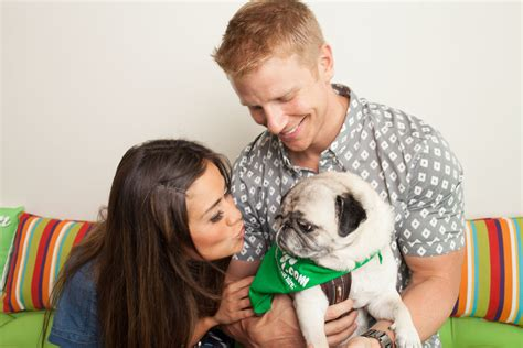 and catherine lowe and catherine giudici play with dogs at rover hq