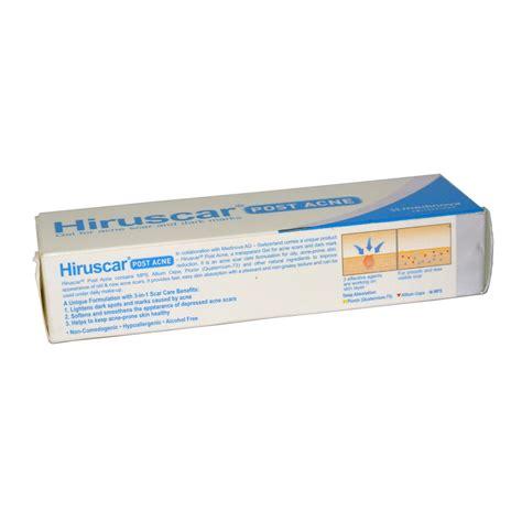 Hiruscar Post Acne Gel jual hiruscar post acne gel for acne scar and