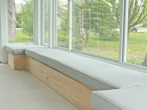 window bench seats wood shop homemade storage bench plans