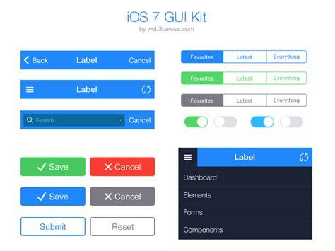 how to get the flat ui ios 7 instagram app on android ios 7 ui kit essential pack ios7 tab bars sub tabs