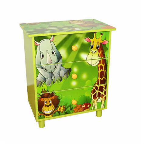 Jungle Drawer by Children S Jungle Chest Of Drawers
