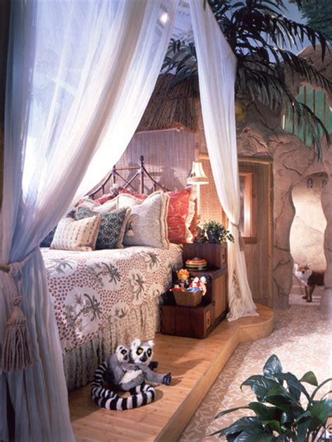 jungle themed bedroom eclectic jungle bedroom designed by troy beasley hgtv
