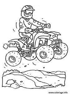 coloriage quad moto 2 jecolorie