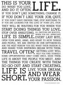 Business Letter Body Paragraphs This Is Your Life Do What You Love And Do It Often If You Don T Like Something Change It