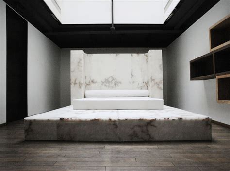 at home with rick owens his new furniture label to