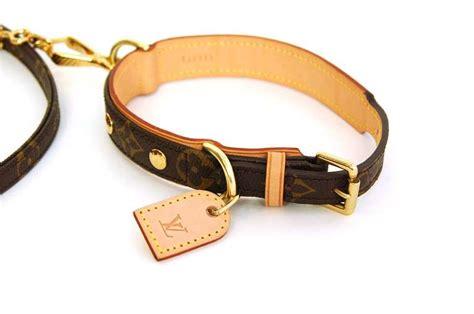 loui vuitton collar louis vuitton baxter collar and leash rt 720 at 1stdibs
