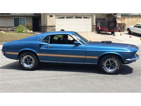 ford mustang 1969 for sale 1969 ford mustang mach 1 for sale classiccars cc