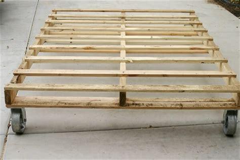 wood pallet bed frame 13 inexpensive wooden pallet bed frame 101 pallets