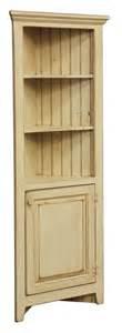 Kitchen Corner Hutch Cabinets Amish Corner Cabinet Pantry Hutch Bathroom Kitchen Solid