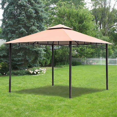 Backyard Creations Steel Roof Gazebo Replacement Canopy For Bc Metal Gazebo Garden Winds