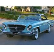 All American Classic Cars 1962 Chrysler 300 2 Door Hardtop