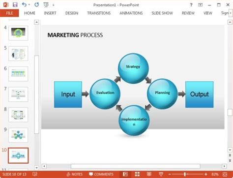 free marketing plan template for powerpoint