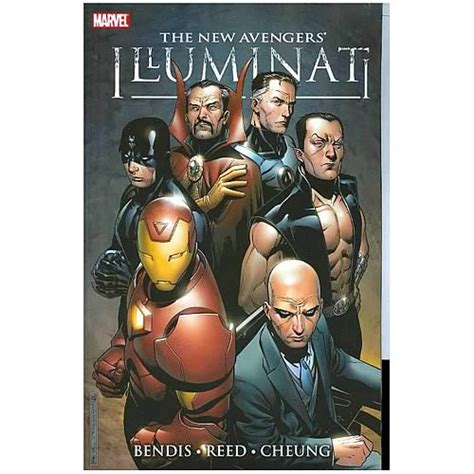illuminati novels new illuminati graphic novel marvel