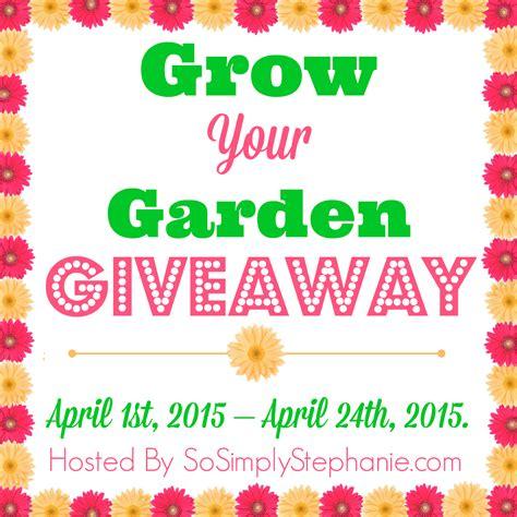 Garden Giveaway - marksvilleandme grow your garden giveaway blogger opportunity