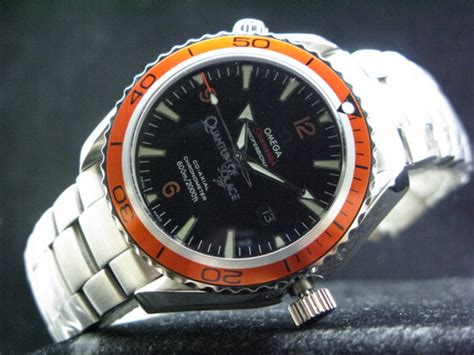 Omega Seamaster Quantum Of Solace 007 Chrono Orange malaysia shopping auction lelong