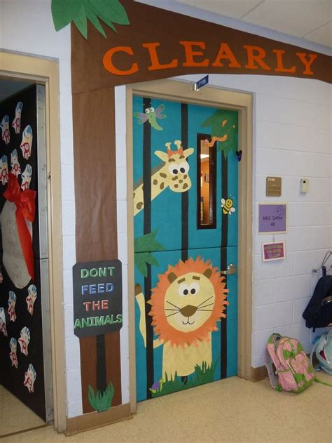 zoo themed decorations 17 best images about zoo on hallway