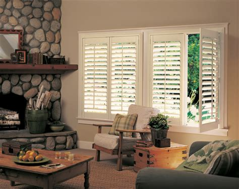 living room shutters cabin style interior shutters rustic indianapolis by