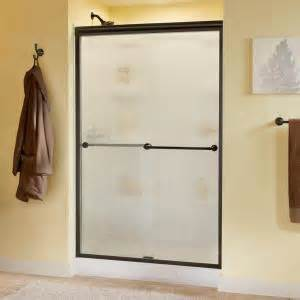 delta shower doors delta mandara 48 in x 70 in semi frameless sliding