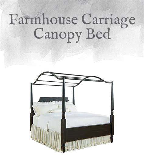carriage canopy bed magnolia home preview farmhouse collection design by gahs