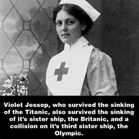 Sinking Of Rms Titanic by Violet Jessop History Pinterest