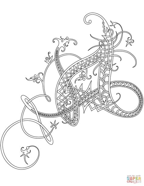 celtic coloring pages celtic ornament coloring page free printable coloring pages