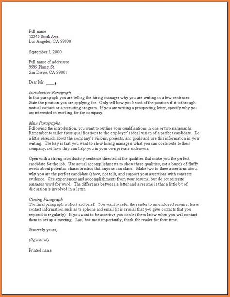 writing a cover letter exle how to write a cover letter sop
