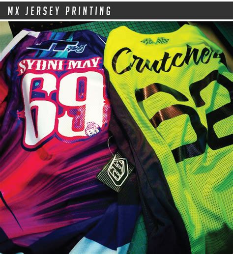 personalised motocross jersey mx jersey printing bikegraphix