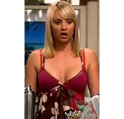 Hot Pictures InTight Shorts Kaley Cuoco Cleavage